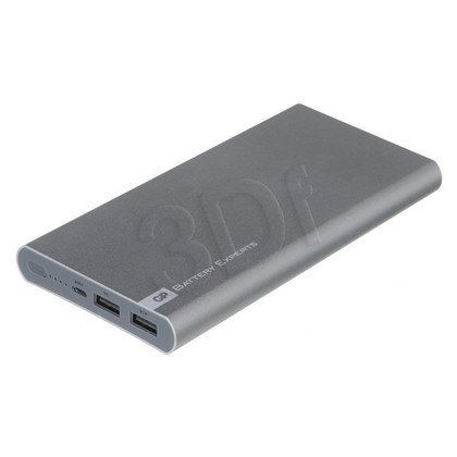 GP Powerbank FP10M 10000mAh USB srebrny