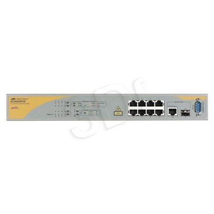 Allied Telesis AT-8000/8POE SWITCH L2 8x10/100TX 1x