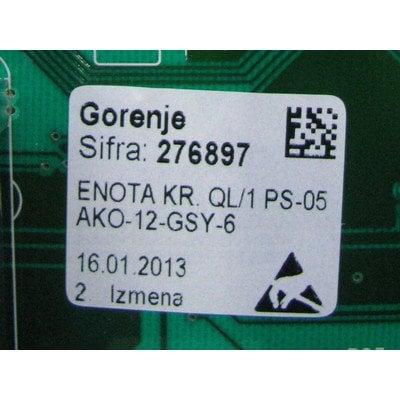 Moduł elektroniczny skonfigurowany do pralki (276897)