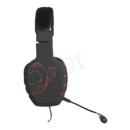 Słuchawki wokółuszne z mikrofonem OZONE RAGE 7HX (Czarny)