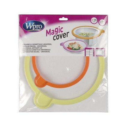Półki na plastikowe i druciane r Pokrywki hermetyczne MAGIC COVER 2szt. Whirlpool (484000000770)