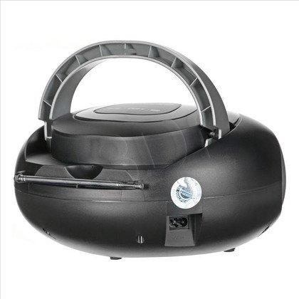 Boombox Manta MM209N Hippo Czarno-srebrny