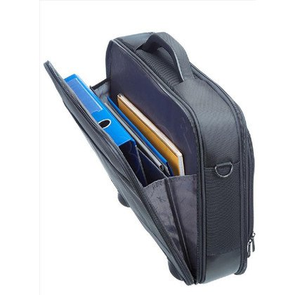 "SAMSONITE TORBA KOMPUTEROWA 39V08003 VECTURA-OFFICE CASE PLUS 17,3"". KIESZENIE NA NOTEBOOK, TABLET, DOKUMENTY I AKCESORIA. PA"