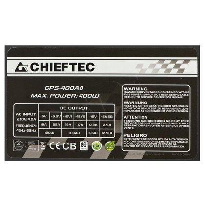 ZASILACZ CHIEFTEC GPS-400A8 (80+) 400W