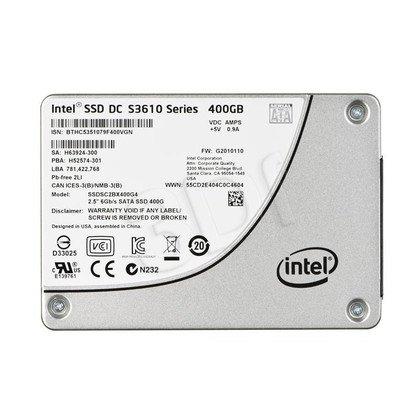 """DYSK SSD INTEL DC S3610 400GB 2,5"""" SATA3 SGL PACK"""