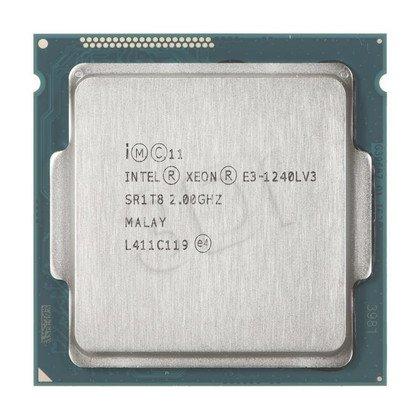 Procesor Intel Xeon E3-1240LV3 2000MHz 1150 Oem