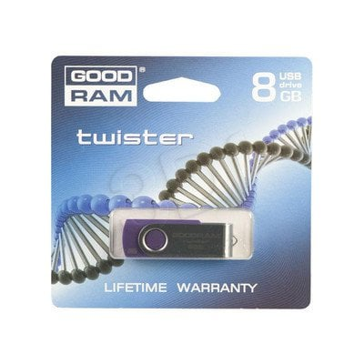 GOODDRIVE FLASHDRIVE 8192MB USB 2.0 TWISTER Purple