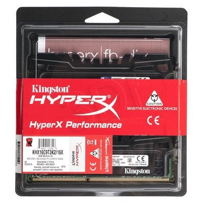 KINGSTON HyperX DDR3 2x8GB 1600MHz KHX16C9T3K2/16X