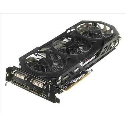 GIGABYTE GeForce GTX 970 4096MB DDR5/256bit DVI/HDMI/DP PCI-E (1253/7000) (wer. OC - OverClock) (wentylator WindForce III)