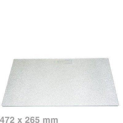 Półka szklana do lodówki (475x265mm) Whirlpool (481946678402)