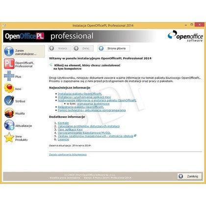 OpenOfficePL Professional 2012 OEM
