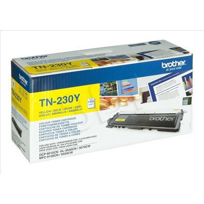 BROTHER Toner Żółty TN230Y=TN-230Y, 1400 str.
