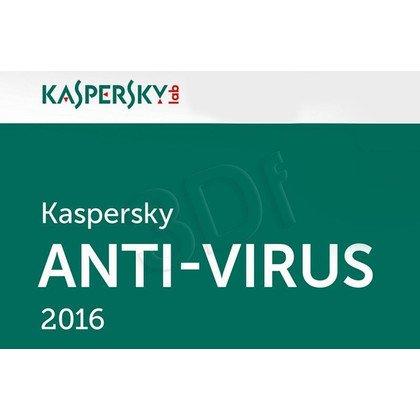 Kaspersky Anti-Virus 2016 ESD 5D/24M