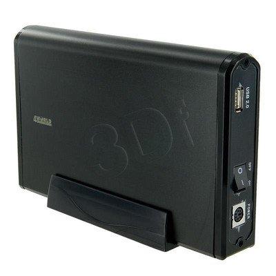 4WORLD OBUDOWA USB 2.0 NA DYSK HDD 3.5'SATA CZARNA