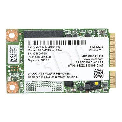 INTEL 530 SSD MLC 180GB mSATA SSDMCEAW180A401