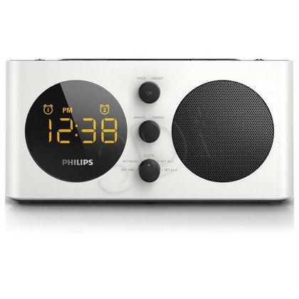 Radiobudzik Philips AJ6000/12 czarny-perłowa biel