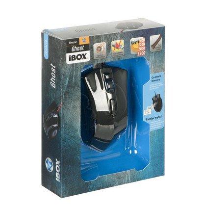 MYSZ I-BOX GHOST OPTYCZNA, PRZEWODOWA, USB,GAMING