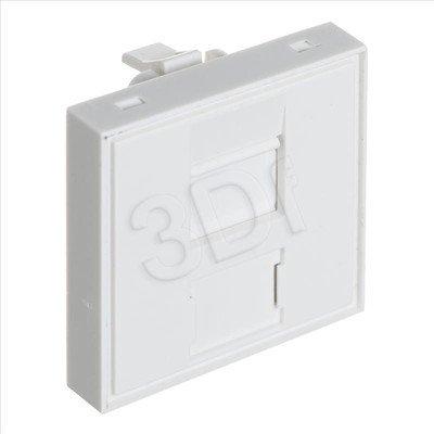 ALANTEC Adapter 45x45 z przesłoną na 1 moduł keystone