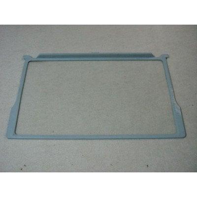 Półka szklana z ramkami 52x31.5 cm (F26H001D9)