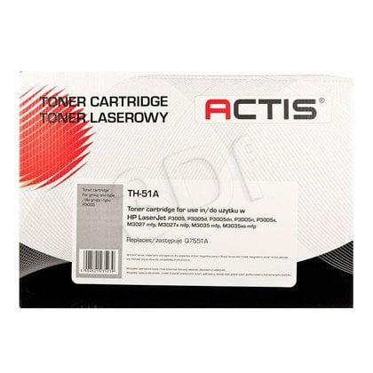 Actis TH-51A czarny toner do drukarki laserowej HP (zamiennik 51A Q7551A) Standard