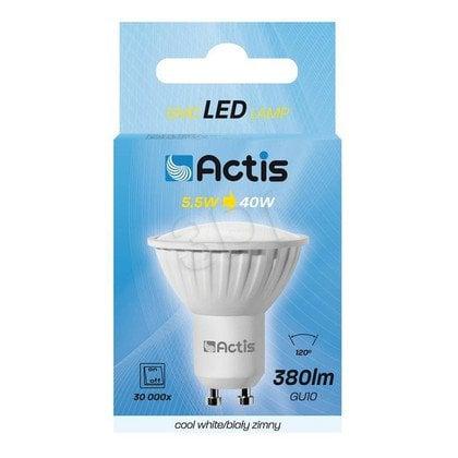 Lampa LED SMD ACS-NS2410C GU10 380lm biała zimna