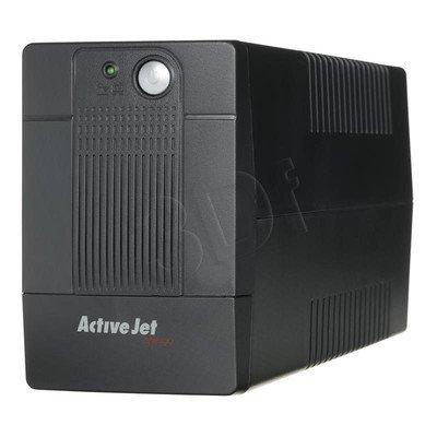 ActiveJet UPS AJE-700VA LED/USB/RJ11/4xIEC320/1x9Ah