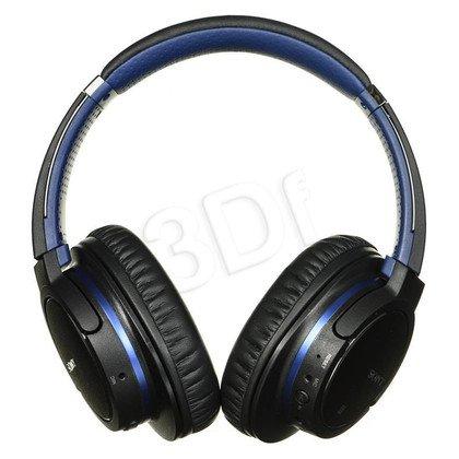 Słuchawki wokółuszne z mikrofonem Sony MDR-ZX770BN (Czarno-niebieskie Bluetooth)
