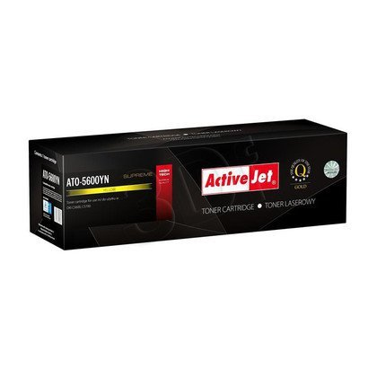 ActiveJet ATO-5600YN żółty toner do drukarki laserowej OKI (zamiennik 43381905) Supreme
