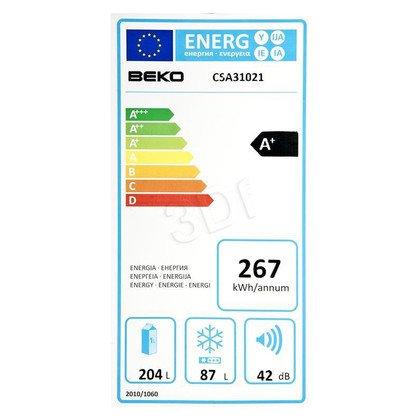 Chłodziarko-zamrażarka Beko CSA 31021 (540x1810x600mm Biały A+)