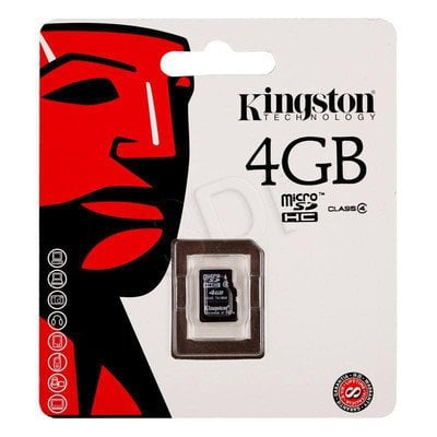 KINGSTON MICRO SD SDC4/4GBSP