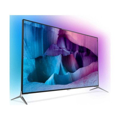 "TV 65"" LCD LED Philips 65PUS7120/12 (Tuner Cyfrowy 800Hz Smart TV Tryb 3D USB LAN,WiFi)"