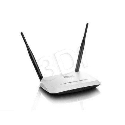NETIS ROUTER WIFI G/N300 DSL + 4 LAN 2XANTENA 5DBI WF2419D