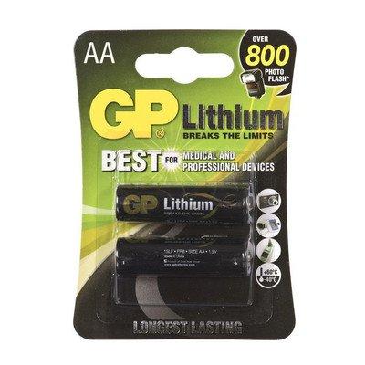 GP BATERIA LITOWA; AA / FR6; 1.5V
