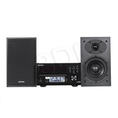 Mini wieża DENON RC-DM40 DAB+ SCM-40 Black
