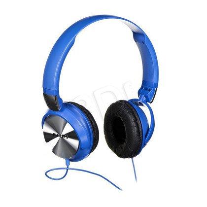 Słuchawki wokółuszne Philips SHL3160BL/00 (Niebiesko-srebrny)