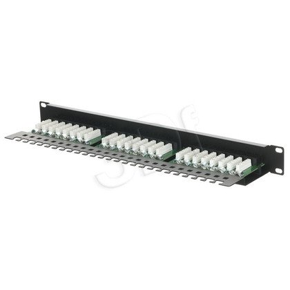 ALANTEC Patch panel UTP 24 porty LSA kat.5e z półką