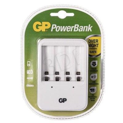 GP Ładowarka uniwersalna PB420 4xAA/AAA