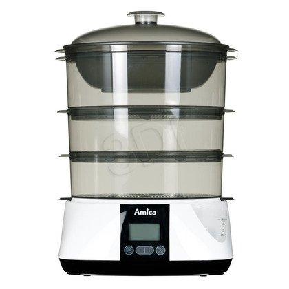 Parowar Amica PT 3011 (900W Biały 1,1l)