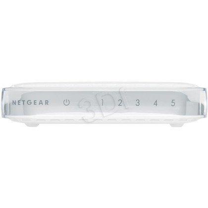 NETGEAR [ GS605 ] Switch SOHO 5 portów Gibabit Platinum Series [ Plastikowy ]