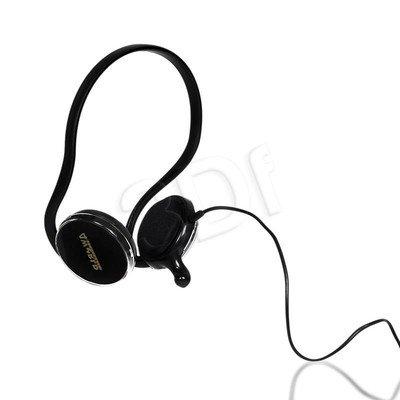 Słuchawki nauszne z mikrofonem 4World 09957 (Czarny)