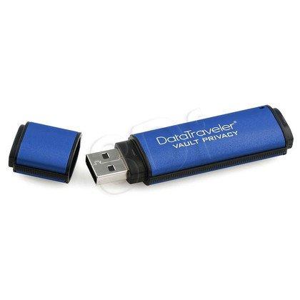 Kingston Flashdrive DataTraveler Vault Privacy 3.0 64GB USB 3.0 Niebieski