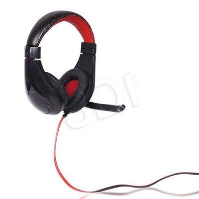 Słuchawki nauszne z mikrofonem 4World 09964 (Czarny)
