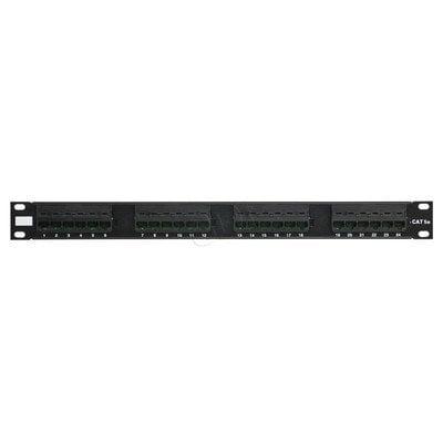 ALANTEC Patch panel UTP 24 porty IDC 110 kat.5e