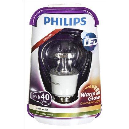 Philips żarówka LED 8718696481202 (tradycyjna żarówka 470lm 6W E27 ciepła biel)