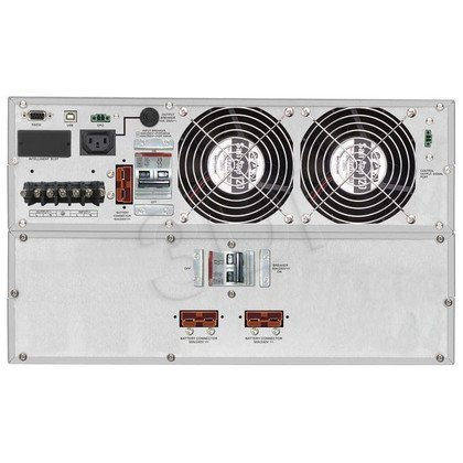 """POWER WALKER UPS ON-LINE 6000VA 1X IEC OUT + TERMINAL, USB/RS-232 LCD RACK 19"""" + BATERIE"""