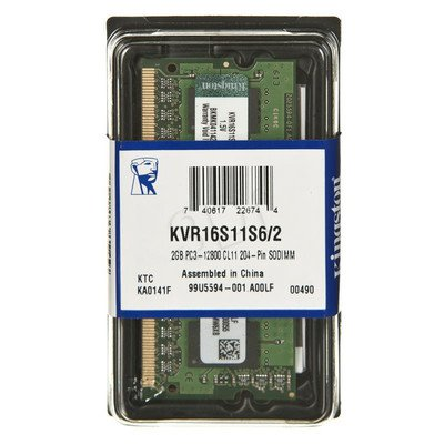 KINGSTON SODIMM DDR3 KVR16S11S6/2
