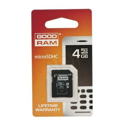 SECURE DIGITAL MICRO 4096 MB GOODRAM