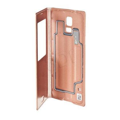 """Samsung Etui do telefonu S-View 5,1"""" Galaxy S5 złoty róż"""