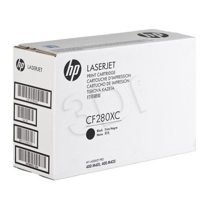 HP Toner Czarny HP80XC=CF280XC, 6800 str.