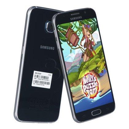 "Smartphone Samsung Galaxy S6 (G920F) 32GB 5,1"" czarny LTE"